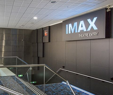 IMAX Melbourne Refurbishment