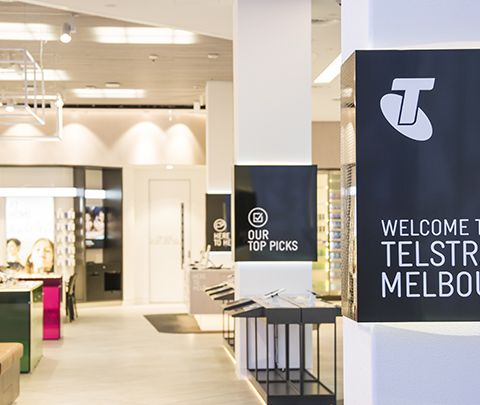 Telstra Icon Store: Bourke Street