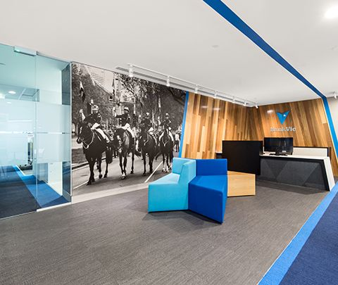 BankVic City & Glen Waverley Fitouts