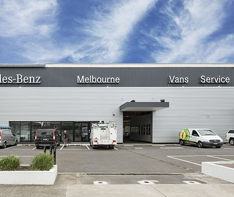 Mercedes Benz Van Servicing Facility