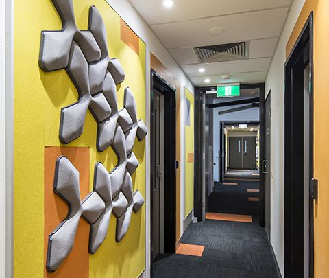Monash University: Music Rooms