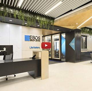 EBOS Healthcare Office Fitout