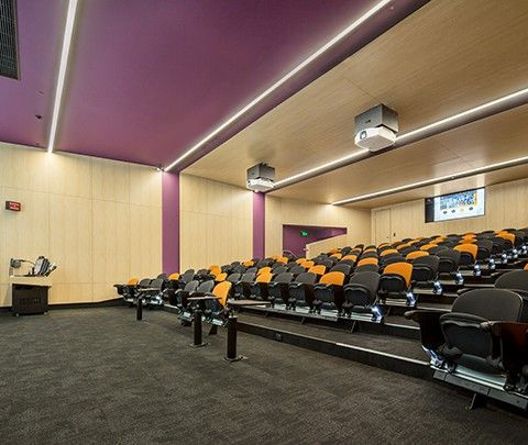Deakin University: Percy Baxter Lecture Theatres